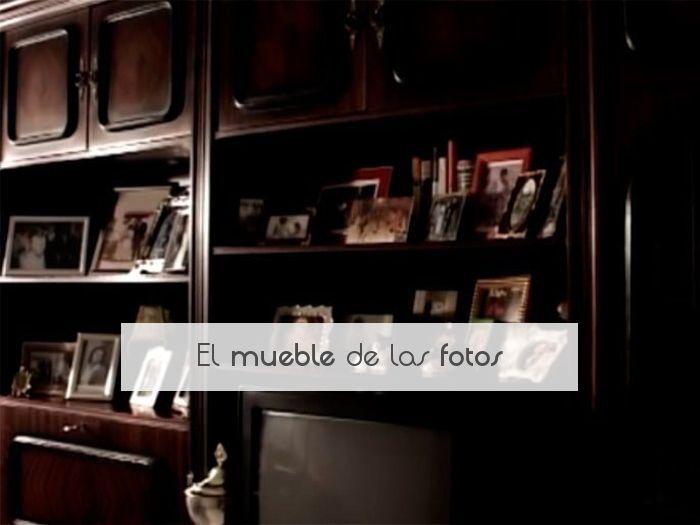 El mueble de las fotos