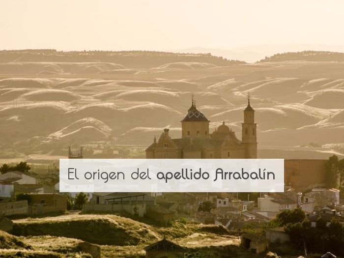 El origen del apellido Arrabalín