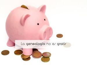 La genealogía no es gratis