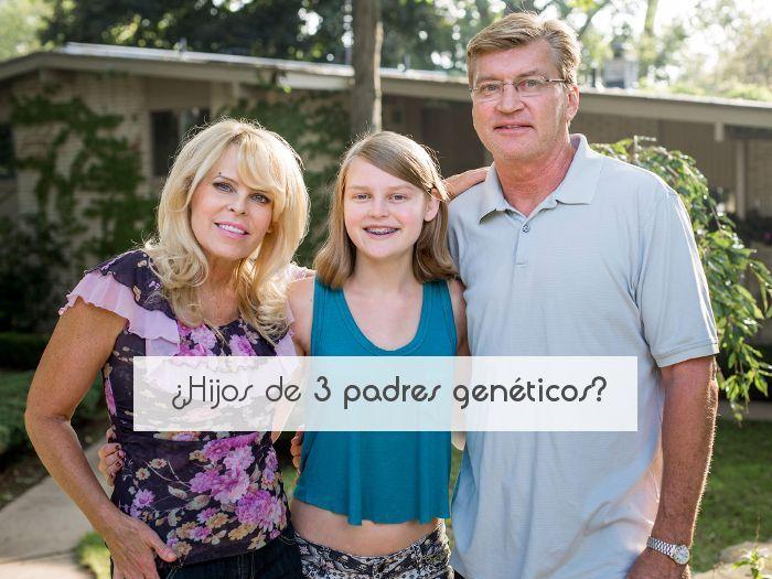 ¿Hijos de 3 padres genéticos?