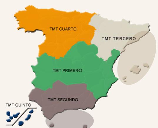 mapa de los tribunales territoriales militares juicios sumarísimos