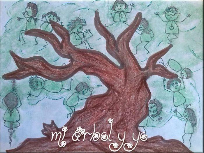 """""""Mi árbol y yo"""" por Montse Rubió"""