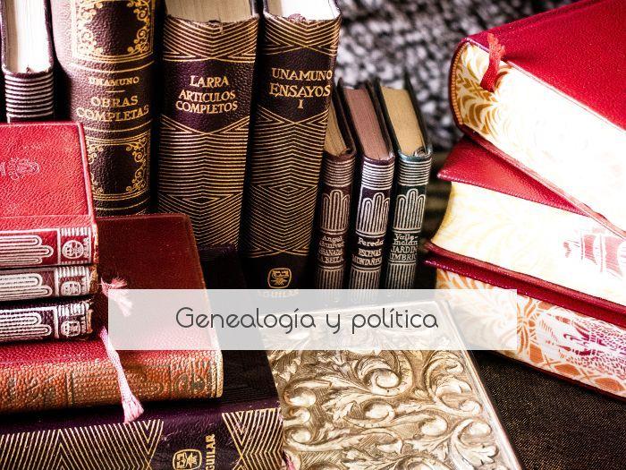 Genealogía y política