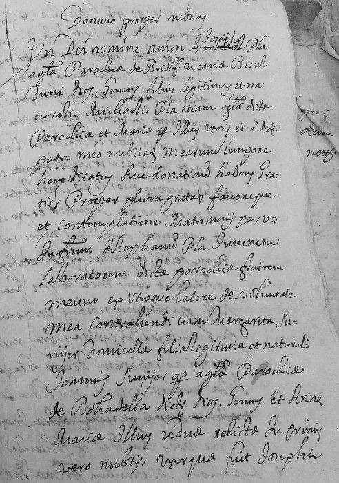 documento Pla de Boadella. Briolf