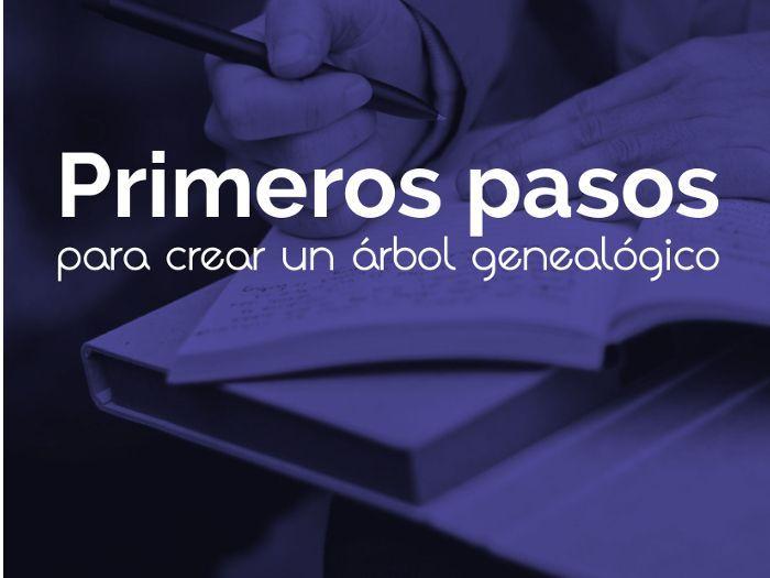 """Minicurso """"Primeros pasos para crear un árbol genealógico"""""""