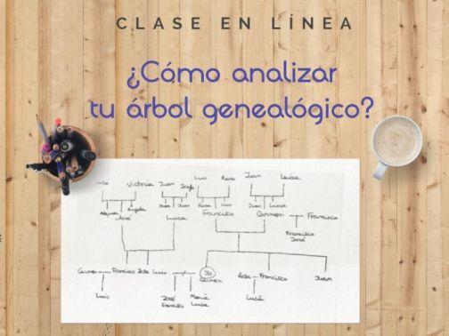Clase en línea Cómo analizar tu árbol genealógico
