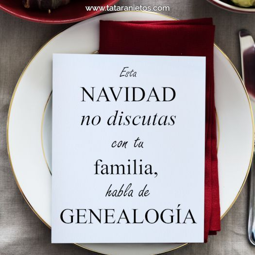 navidad discusion genealogia