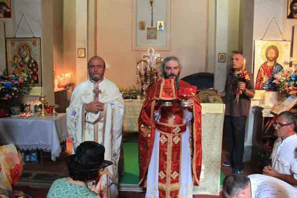 Богослужение в итальянском храме