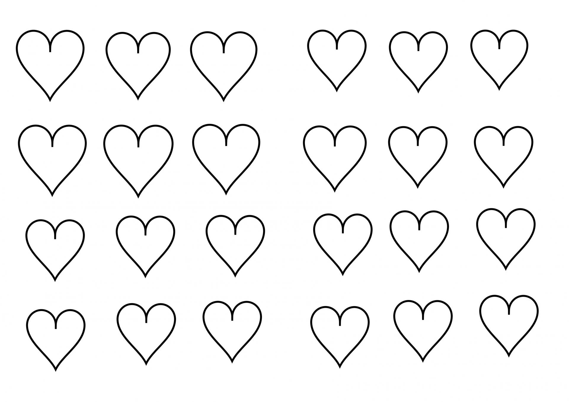 10 Coloriage De Petit Coeur A Imprimer | Imprimer et Obtenir une Coloriage Gratuit Ici