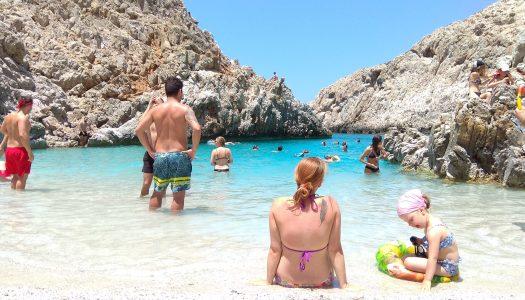 Kreta z małym dzieckiem | Plaża Seitan Limania