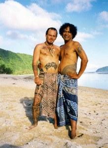 Mo'o and his master, Paulo