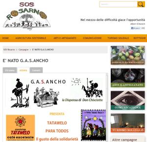 Sito web SOS Rosarno