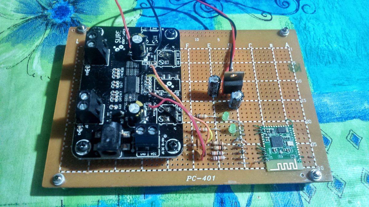 Bluetooth Speaker Project