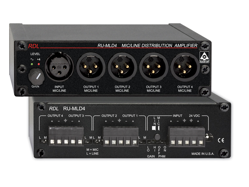 Audio Distribution Amp Project