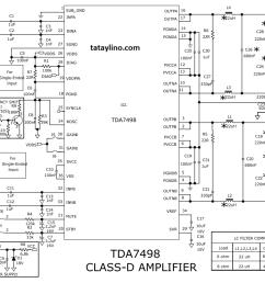 tda7498 schematic [ 1163 x 782 Pixel ]