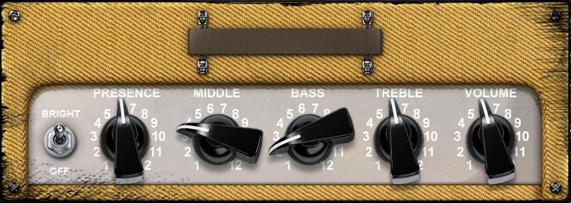 Guitar Preamplifier Circuit
