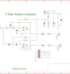 simple 2 way active crossover u2013 tataylino comsimple 2 way active crossover [ 1750 x 1206 Pixel ]