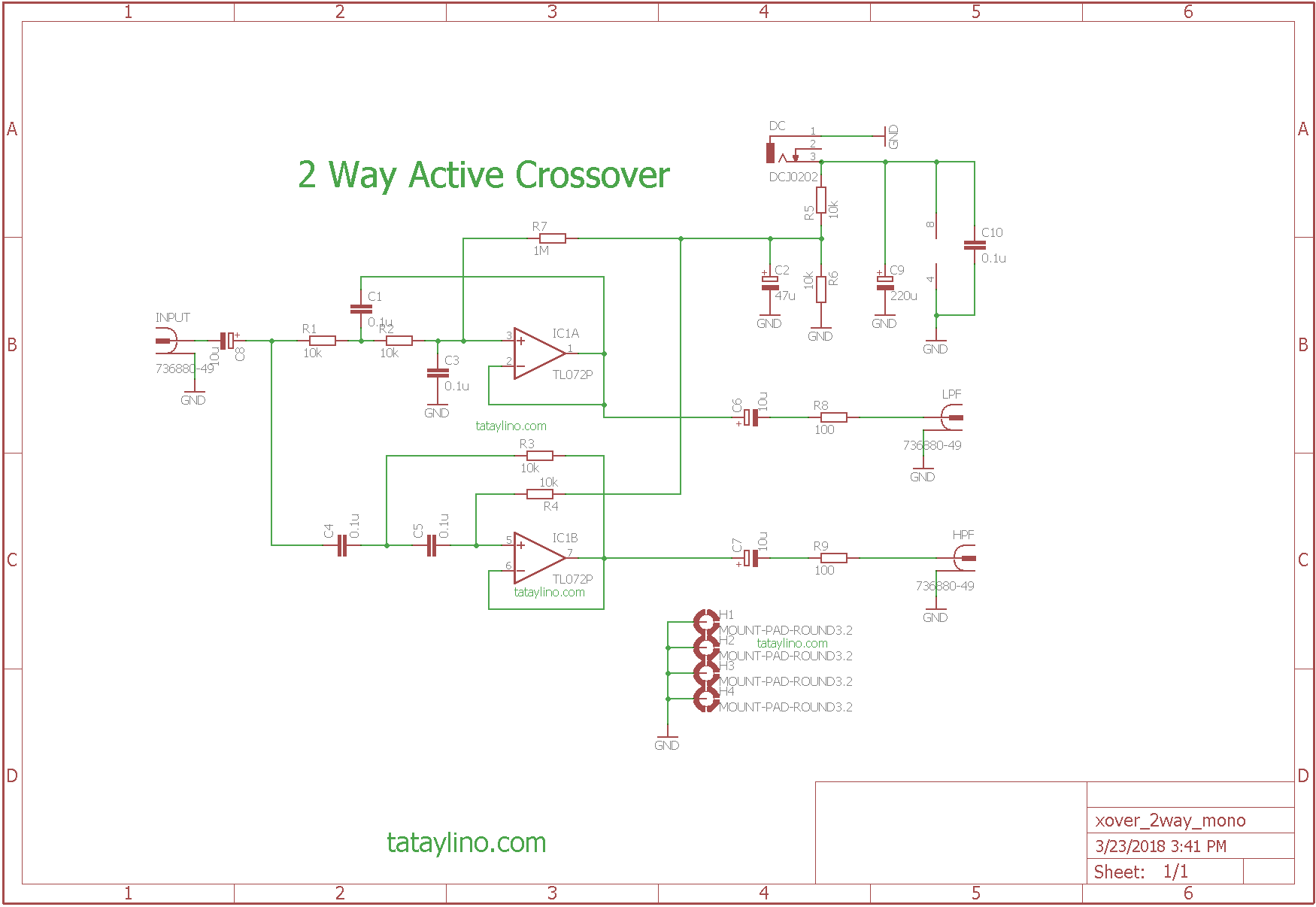 hight resolution of simple 2 way active crossover u2013 tataylino comsimple 2 way active crossover