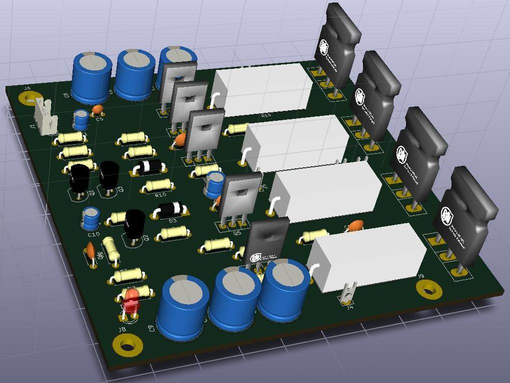200W Amplifier Design