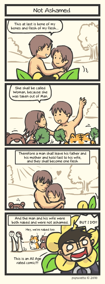 Genesis Bible Comic – Not Ashamed