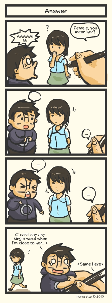 answer request from the author comci strip