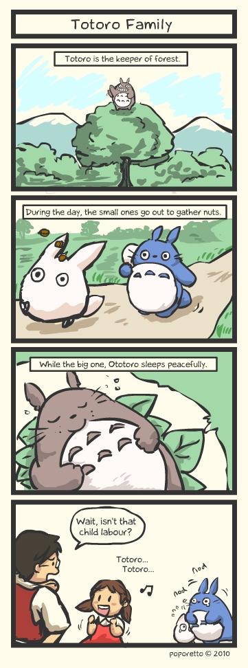 TAT Totoro Family