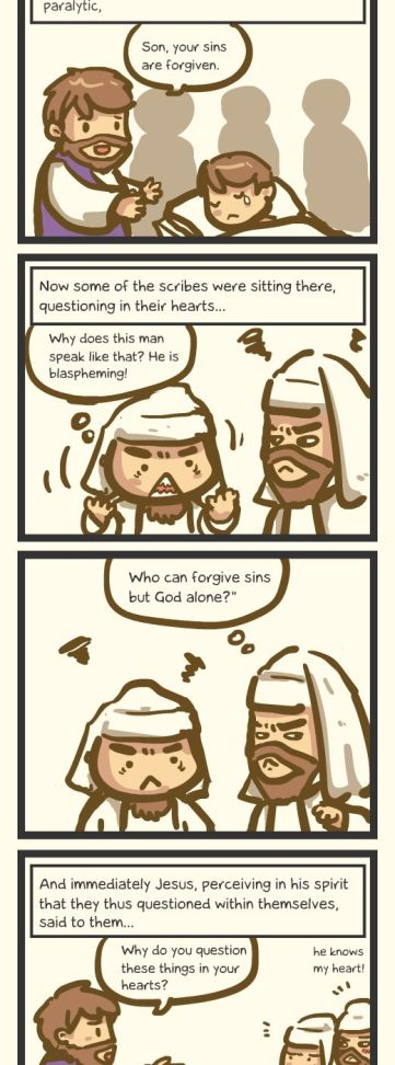 Book of Mark : The One Who Forgives