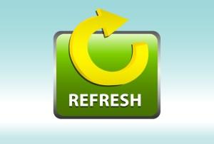 website refresh button