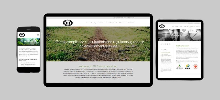 Reinventing TTI Environmental's Web Presence