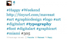 hashtage example
