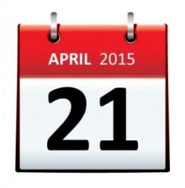April 21, 2015