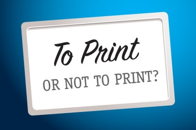 statement: to print or not to print