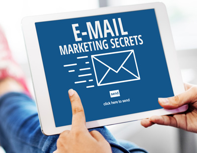 email marketing secrets graphic