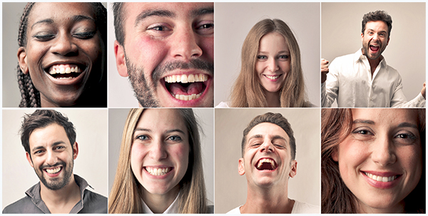 Smiling Mouths of People