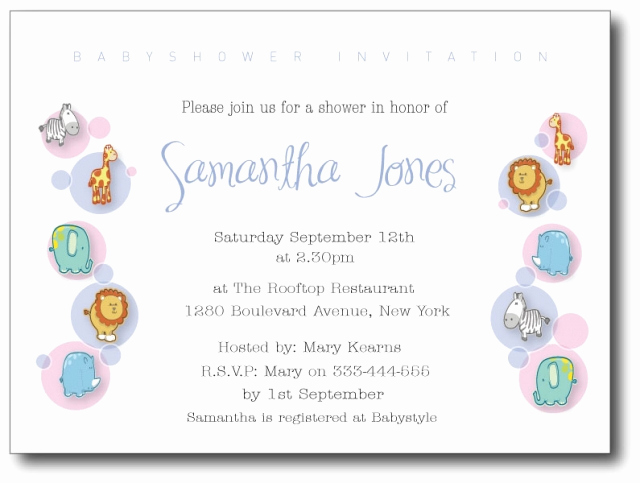 30 Sample Baby Shower Invitations Tate Publishing News