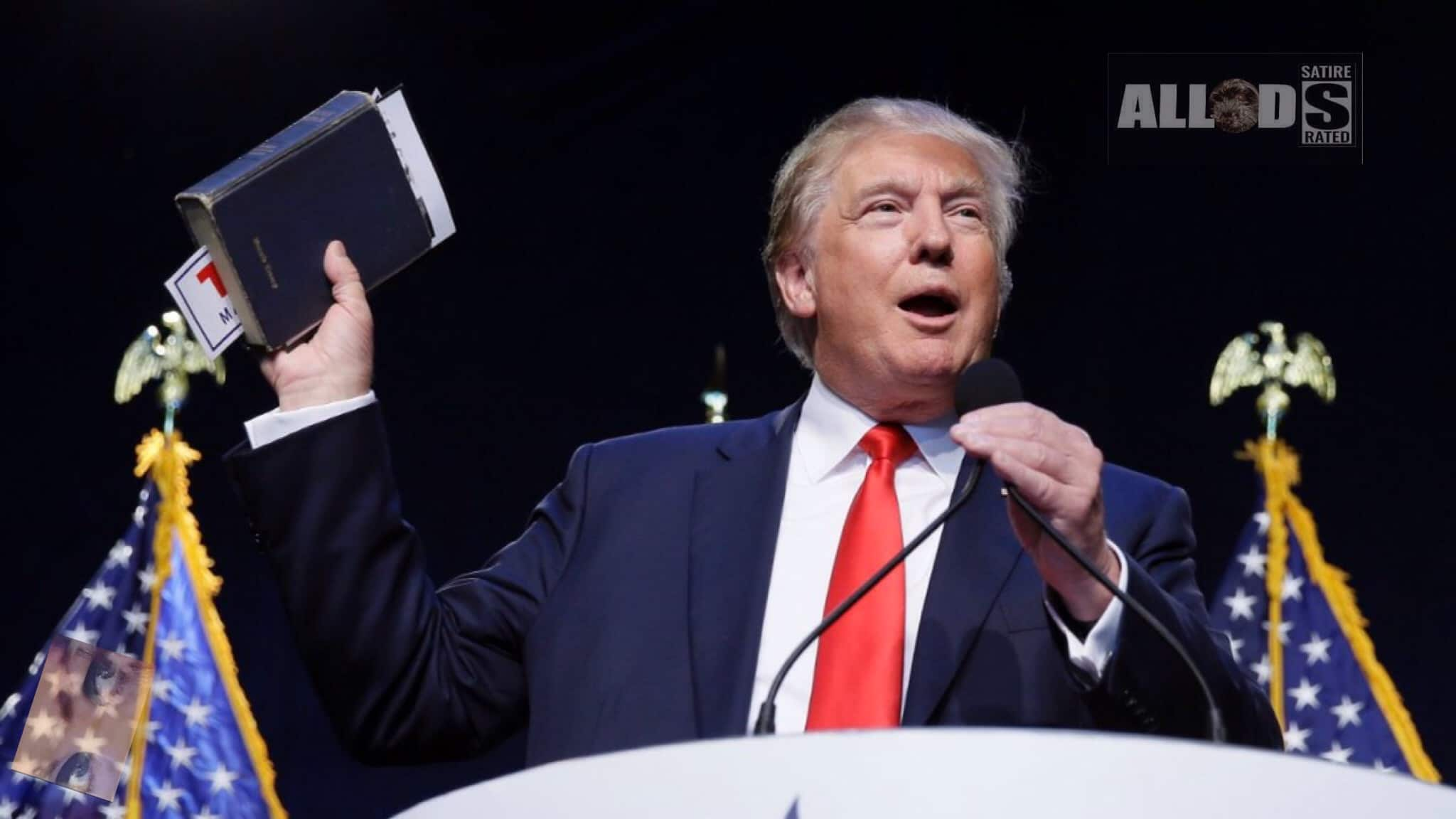 Trump Wants 'God's Word Back In The Law Books'
