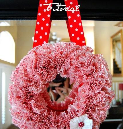 Cupcake Wreath Update