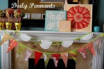 Three Doily Pennant Projects