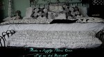 Make a Ruffly Pillow Cover out of an Old Bedskirt