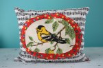 Mothers Day Extravaganza: Jane Says — Handmade Bird Pillow & $10 Credit to etsy Store