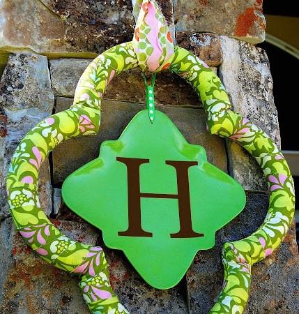 Quatrefoil Wreath Tutorial