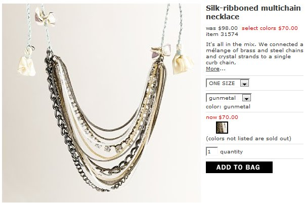 Guest Project — Make a $70 J. Crew-inspired necklace for $10