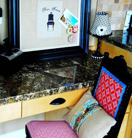 My Decorating Dilemma Solution — Desk Area Makeover