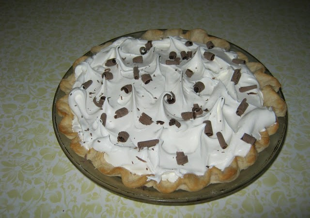 Guest Project: make a delicious French Silk Pie