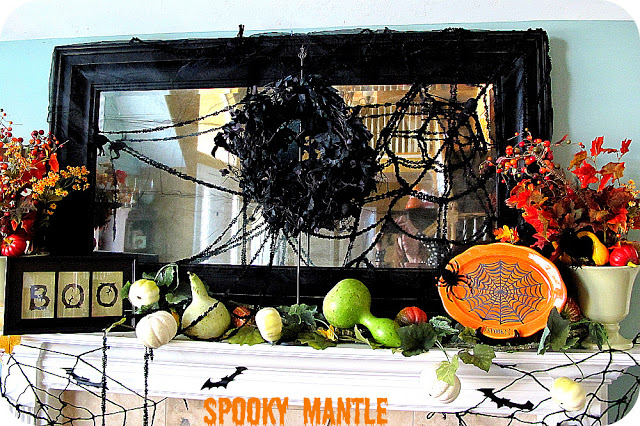 My Spookified Mantle — eeeeeek!