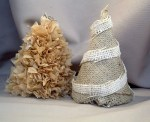 Guest Project — Make Burlap Christmas Trees!