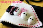Guest Project — Make Whimsical Glove Purses {great party craft}