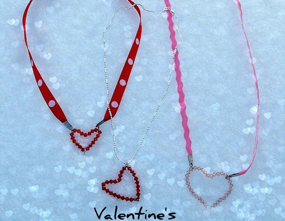 Valentine Gift Idea — Make Handmade ♥ Heart ♥ Jewelry! {plus a bunch of winners}