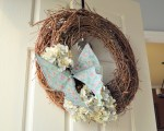 Guest Project — 10-minute Easter/Spring Wreath!!