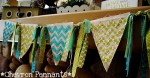 Chevron Pennant Tutorial {Silhouette project}
